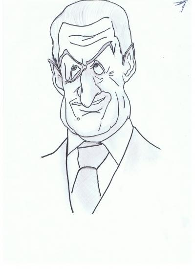 Nicolas Sarkozy by mohdu67